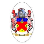 Bourhill Sticker (Oval 10 pk)