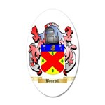 Bourhill 35x21 Oval Wall Decal