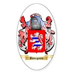 Bourgouin Sticker (Oval 10 pk)