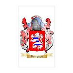 Bourgogne Sticker (Rectangle)