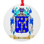 Bourdon Round Ornament