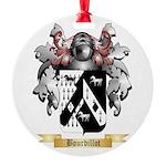 Bourdillot Round Ornament