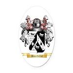 Bourdillot Oval Car Magnet