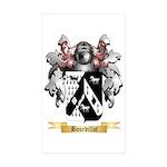 Bourdillot Sticker (Rectangle 50 pk)