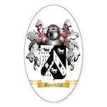 Bourdillot Sticker (Oval 50 pk)