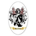 Bourdillon Sticker (Oval 10 pk)
