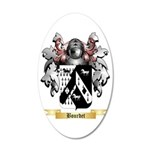 Bourdet 35x21 Oval Wall Decal