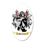 Bourdelin 35x21 Oval Wall Decal