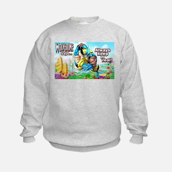 Wolverine In Candyland 001 Sweatshirt