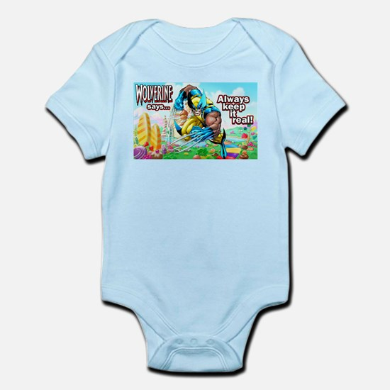 Wolverine In Candyland 001 Body Suit