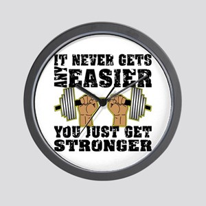 You Just Get Stronger Wall Clock
