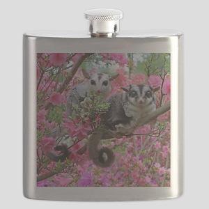 Flowers #17 Flask
