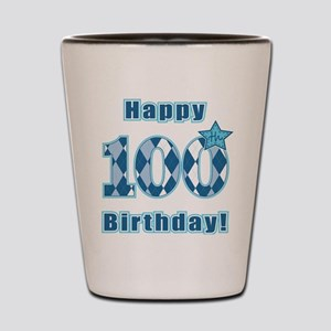 Happy 100th Birthday! Shot Glass
