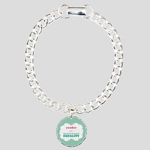 Roofer for Equality Bracelet
