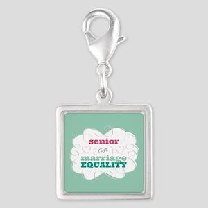 Senior for Equality Charms