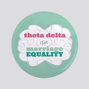 """Theta Delta Chi for Equality 3.5"""" Button"""