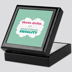 Theta Delta Chi for Equality Keepsake Box