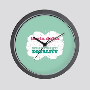 Theta Delta Chi for Equality Wall Clock