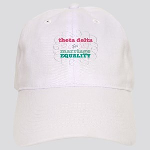 Theta Delta Chi for Equality Baseball Cap