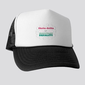 Theta Delta Chi for Equality Trucker Hat