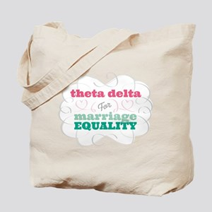 Theta Delta Chi for Equality Tote Bag