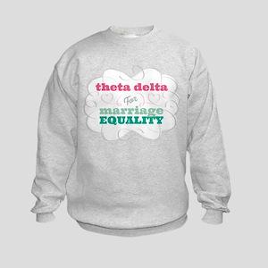 Theta Delta Chi for Equality Sweatshirt