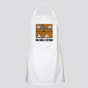 This Chick is Retired Apron