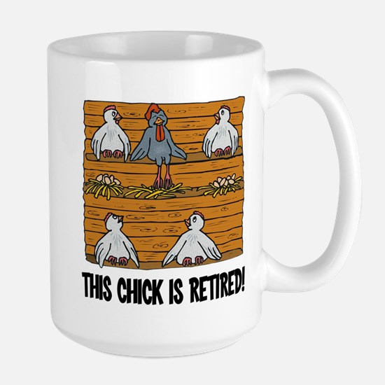 This Chick is Retired Large Mug