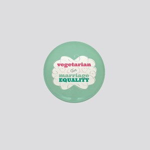 Vegetarian for Equality Mini Button