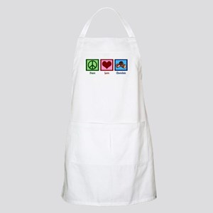 Peace Love Chocolates Apron