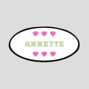 Annette Cross Stitch Patch