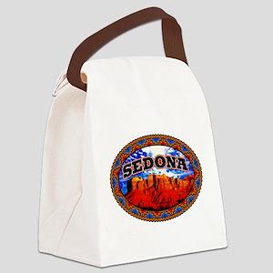 Sedona Navajo Sky Canvas Lunch Bag