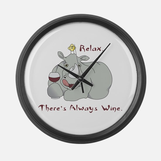 Relax Large Wall Clock