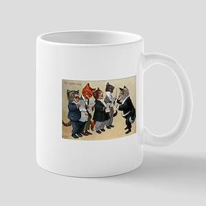 German Cat Choir Mugs