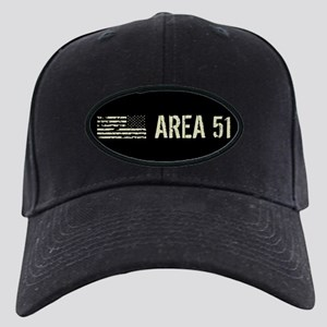 Black Flag: Area 51 Black Cap with Patch