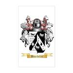 Bourdelier Sticker (Rectangle)