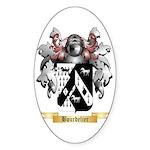 Bourdelier Sticker (Oval 10 pk)
