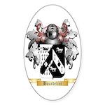 Bourdelier Sticker (Oval 50 pk)