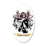 Bourdelier 20x12 Oval Wall Decal
