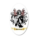 Bourdelier 35x21 Oval Wall Decal