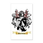 Bourdelier 35x21 Wall Decal