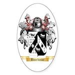 Bourdasse Sticker (Oval 50 pk)