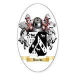 Bourda Sticker (Oval 10 pk)