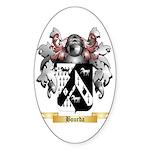 Bourda Sticker (Oval 50 pk)