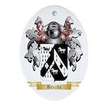 Bourda Ornament (Oval)
