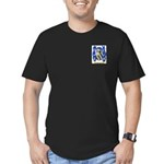 Bouquet Men's Fitted T-Shirt (dark)
