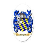Bouquet Oval Car Magnet