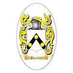 Boundey Sticker (Oval 10 pk)