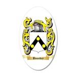 Boundey 20x12 Oval Wall Decal
