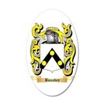 Boundey 35x21 Oval Wall Decal